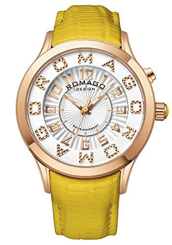 ロマゴ デザイン 腕時計 ROMAGO DESIGN 時計 アトラクション RM067-0162ST-YE メンズ レディース
