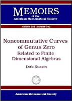Noncommutative Curves of Genus Zero: Related to Finite Dimensional Algebras (Memoirs of the American Mathematical Society)