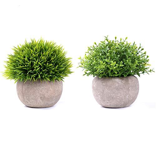Coolcraft 2個セット フェイクグリーン 光触媒 トピアリー ボール お世話のいらない 癒しの グリーン 観葉植物 インテリア 人工観葉植物