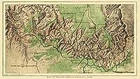 古い状態マップ–グランドキャニオン国立公園–USGS 1926–40.5X 23 USGC0005-4