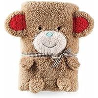 Mud Pie Baby Blanket - Monkey by Mud Pie