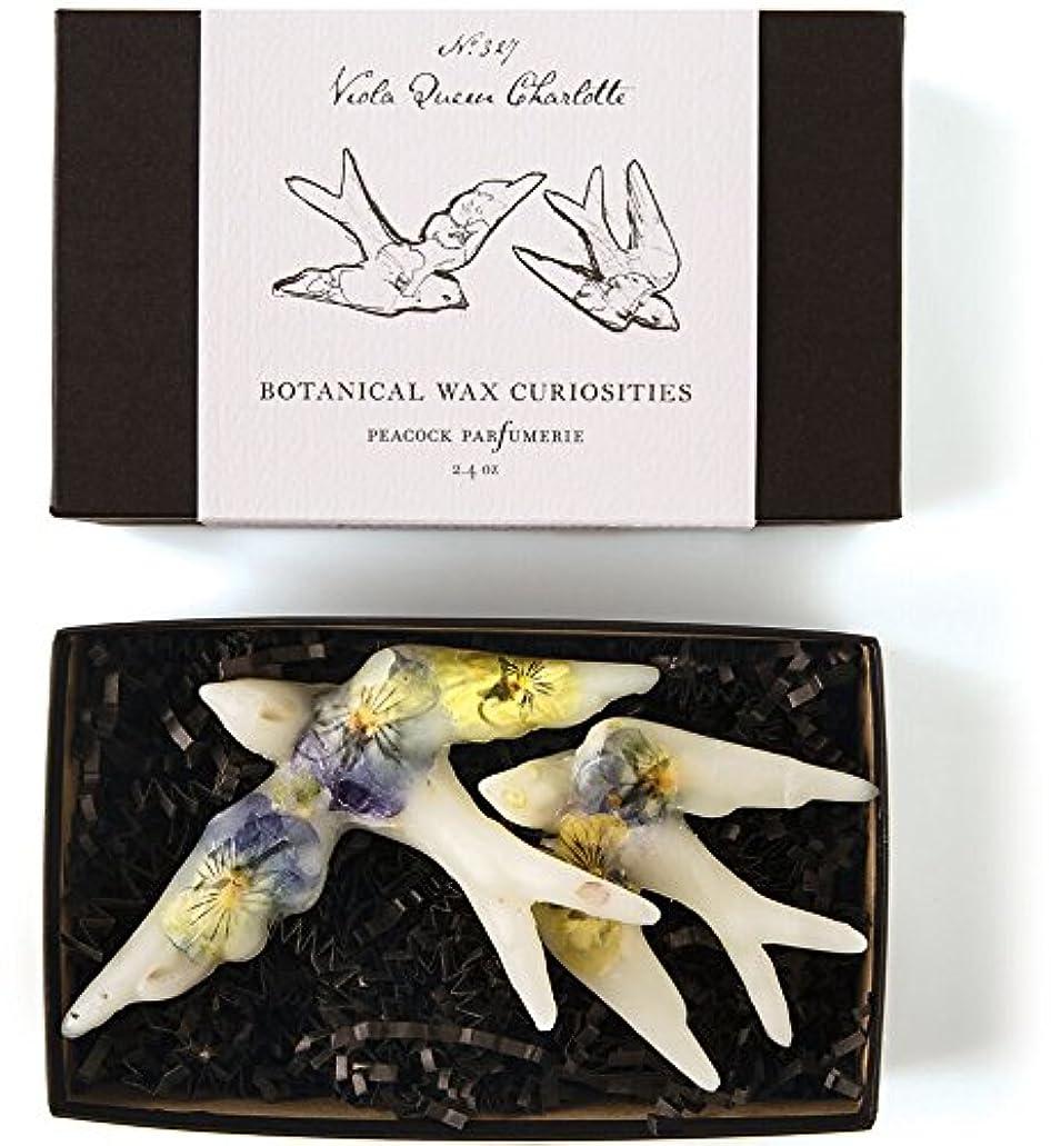 理由怒っている輪郭ロージーリングス ボタニスト ボタニカルワックスキュリオシティ ビオラクィーンシャーロット ROSY RINGS Botanist Collection Botanical Wax Curiosities – Viola Queen Charlotte