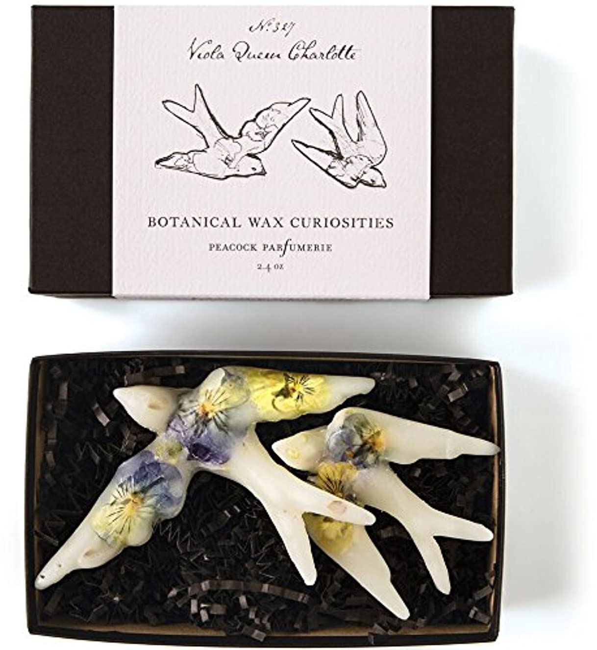 あごひげ十代の若者たち韓国ロージーリングス ボタニスト ボタニカルワックスキュリオシティ ビオラクィーンシャーロット ROSY RINGS Botanist Collection Botanical Wax Curiosities – Viola Queen Charlotte