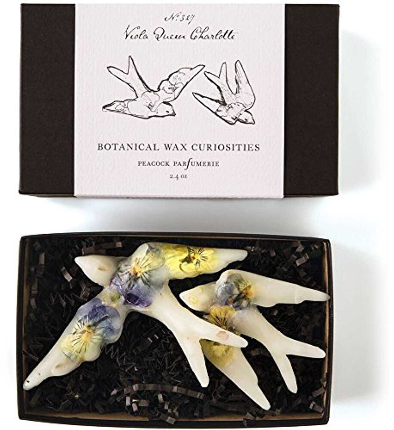 素晴らしい歯科の給料ロージーリングス ボタニスト ボタニカルワックスキュリオシティ ビオラクィーンシャーロット ROSY RINGS Botanist Collection Botanical Wax Curiosities – Viola...