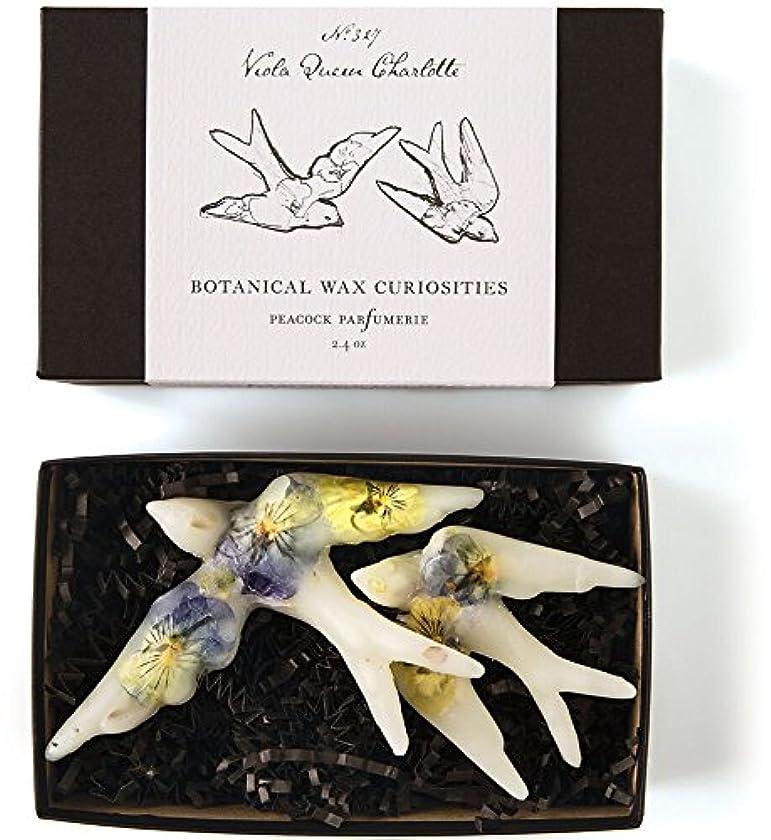 急性光添付ロージーリングス ボタニスト ボタニカルワックスキュリオシティ ビオラクィーンシャーロット ROSY RINGS Botanist Collection Botanical Wax Curiosities – Viola...