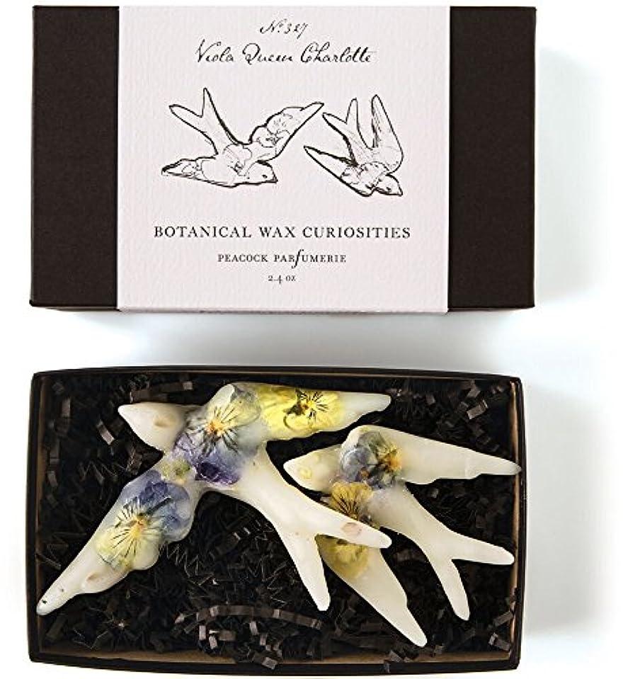 緩む不安定奇跡ロージーリングス ボタニスト ボタニカルワックスキュリオシティ ビオラクィーンシャーロット ROSY RINGS Botanist Collection Botanical Wax Curiosities – Viola...