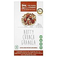 Athenryのグルテンフリーのナッツクランチグラノーラ300グラムの食品 (x 4) - Foods of Athenry Gluten Free Nutty Crunch Granola 300g (Pack of 4) [並行輸入品]