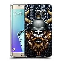 Head Case Designs バイキング スカル・ウォリアーズ ソフトジェルケース Samsung Galaxy S6 edge+ / Plus