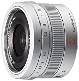 Panasonic 単焦点 広角レンズ マイクロフォーサーズ用 ライカ DG SUMMILUX 15mm/F1.7 ASPH. シルバー H-X015-S