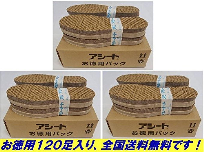 給料アクティビティアテンダントアシートOタイプお徳用パック120足パック (26.5~27cm)