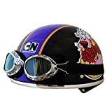 カートゥーンネットワーク(CARTOON NETWORK) おくびょうなカーレッジくん ヴィンテージタイプヘルメット SGマーク付き 125cc以下のオートバイ向け courage-vintage