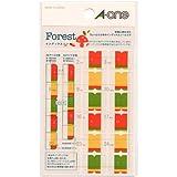手帳用 インデックスシール Forest(フォレスト) 05211
