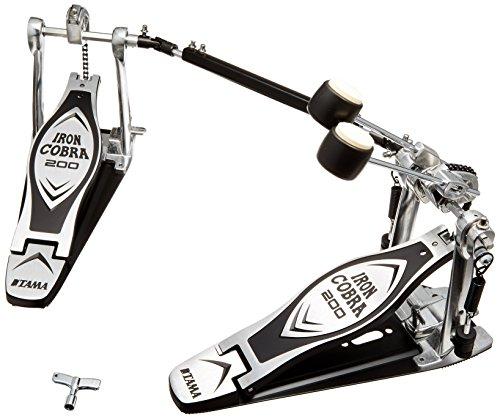 TAMA タマ Ironcobra アイアンコブラ 200 ツイン ドラムペダル HP200PTW