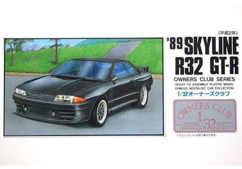 1/32 オーナーズクラブシリーズ No.35 '89 スカイラインR32