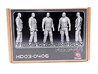 Hobby Design 1/18 ミスター ロック ジョンソン レジン製 フィギュア HD03-0406