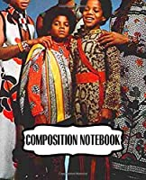Composition Notebook: The Jackson 5 American Pop Band Jackson Family Brother Music Rock and Roll Hall of Fame, Blank Pages for Drawing and Creative Doodling. Notebook to Draw, Doodle (Workbook and Handbook) Soft Cover Paper 7.5 x 9.25 Inches 110 Pages.