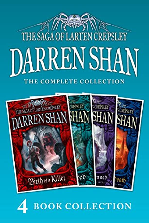 フィドル系譜望みThe Saga of Larten Crepsley 1-4 (Birth of a Killer; Ocean of Blood; Palace of the Damned; Brothers to the Death) (The Saga of Larten Crepsley) (English Edition)