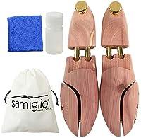 samiglio 木製 レッドシダー シューキーパー コットンクロス クリーナー メンズ レディース ブーツ (42 / 26.5~27.0cm)