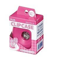 プラス クリップケース CP-500 81-960 ピンク 【5個セット】