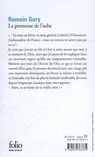 La promesse De l'aube (Folio)