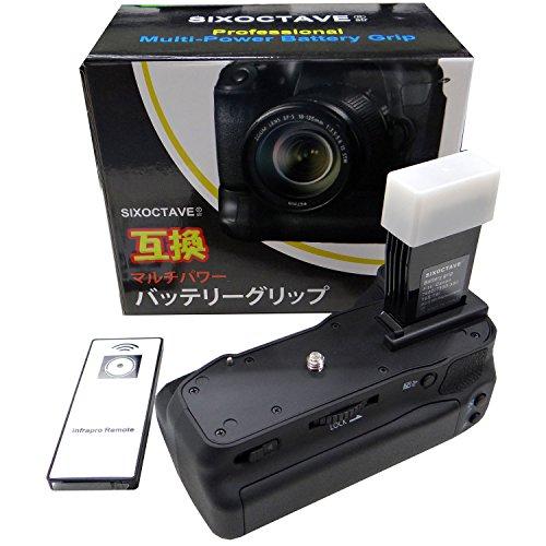 キヤノン CANON BG-E18 バッテリーグリップ純正互換品 LP-E17 バッテリー対応 / EOS 8000D / EOS Kiss X8i カメラ用