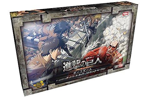 進撃の巨人 ボードゲーム 日本語版...