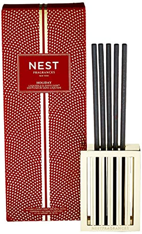 軽量セッション神経衰弱ネスト Liquidless Diffuser - Holiday 5 ScentSticks並行輸入品