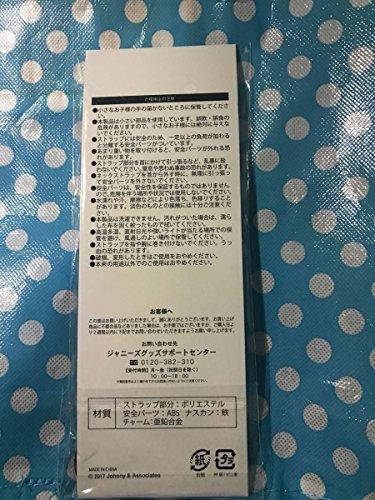 嵐 ARASHI LIVE TOUR 2017-2018 「untitled」 公式グッズ 会場限定 ネックストラップ 大阪 紫 (松本潤