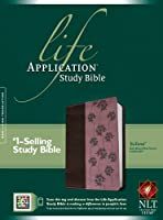 Life Application Study Bible: New Living Translation, Dark Brown / Pink Flowers TuTone, LeatherLike (Bible Nlt)
