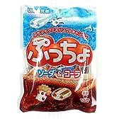 味覚糖 ぷっちょ袋 ソーダ&コーラ 100g×6袋