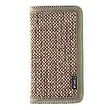 【日本正規代理店品】 melkco 2014年発売 iPhone5.5インチ用 Heritage Series プレミアムレザー(本革)使用 横開きブックカバータイプ カード収納ポケット付×3 Italian Brown MKHEV2BCIP6501BNIY