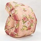 西川 羽毛布団 ホワイト グース ダウン 90% 日本製 抗菌 防臭 AI959 (シングル:150×210cm, ピンク)