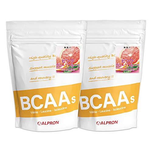 アルプロン BCAA 1kg ピンクグレープフルーツ風味(アミノ酸 ALPRON 粉末ドリンク 国内生産) (2)