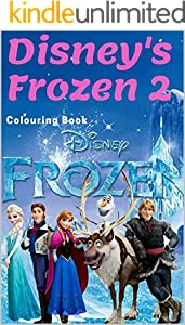 The Drawing Book for Kids :Disney's Frozen 2 (Colouring Book): Best deals for Disney Frozen Elsa Anna Drawing Board Kids Child Toy 3 (English Edition)