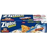 ジップロック イージージッパー スライド式ジッパー付き保存袋 冷凍・解凍用 大 32枚入 (縦27.9cm×横26.8cm)