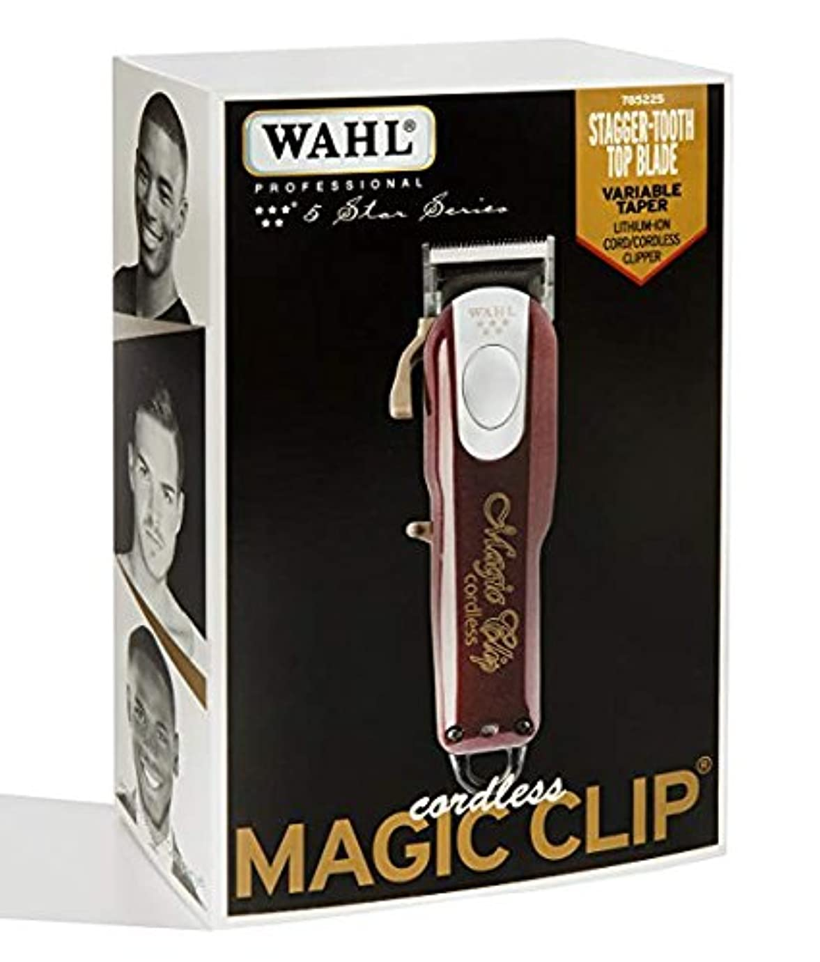 植物のマッサージどきどき[Wahl] [すばらしいです 専用 理髪店とスタイリスト - 90分以上の実行時間 / Professional 5-Star Cord/Cordless Magic Clip #8148] (並行輸入品)