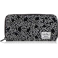 【Keith Haring/キースヘリング】 総柄 プリント ロングウォレット KHB-WA1801 「PRODUCTY WARRANTY(プロダクティワランティ)」
