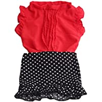 SONONIA セット かわいい Tシャツ トップス スカート 18インチアメリカガールドール用 ドレスアップ