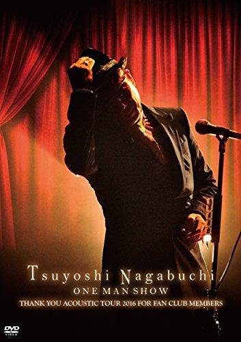 Tsuyoshi Nagabuchi ONE MAN SHOW(初回限定盤)(タオル付)[DVD]