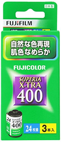 富士フイルム SUPERIA X-TRA400 [135 24枚撮 3本パッ...