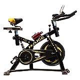 HAIGE フィットネスバイク スピンバイク HG-YX-5001 自宅で気軽に本格トレーニング カラー:ブラック