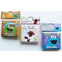 Sesame Street Bath Time Bubble Books (Bundle of 3) [並行輸入品]