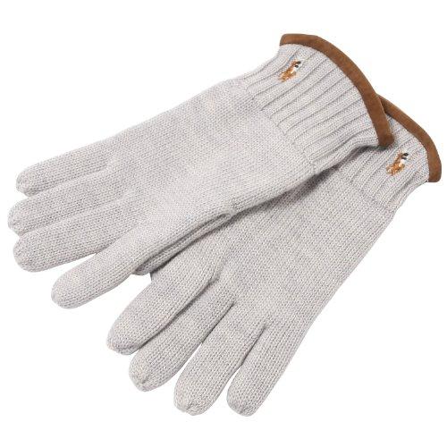 Classic Lux Merino Glove w/Lth ポロ ラルフ ローレン
