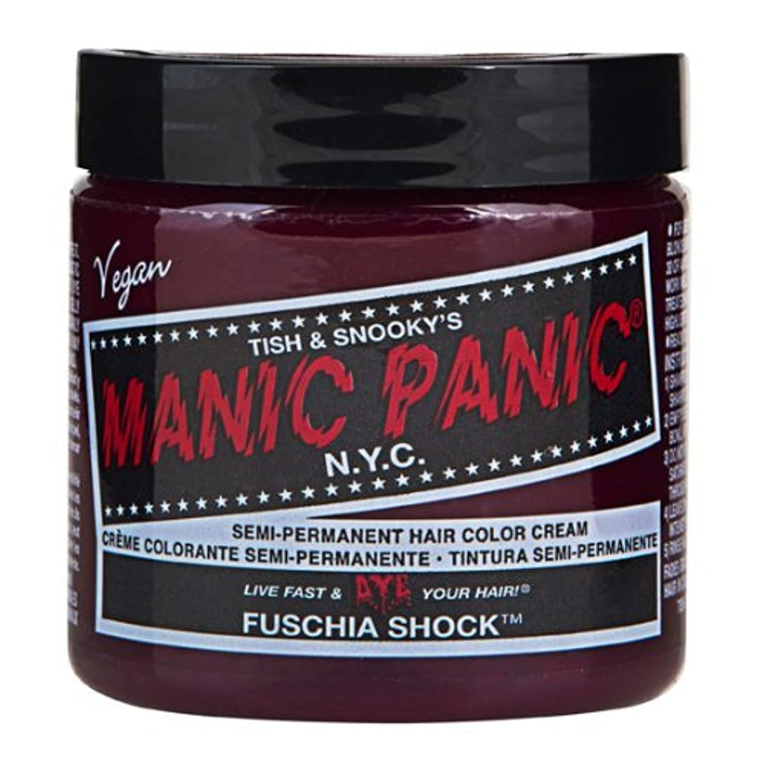 くちばし割れ目禁じるマニックパニック MANIC PANIC ヘアカラー 118mlフューシャショック ヘアーカラー