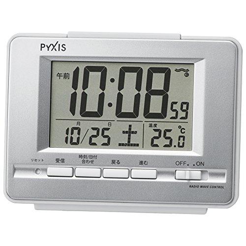 セイコー クロック 目覚まし時計 電波 デジタル カレンダー...