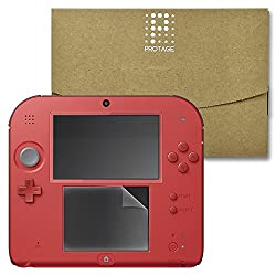 2DS 専用 フィルム 下画面 保護フィルム 上画面 ガラスフィルム 2DS 液晶保護フィルム PROTAGE