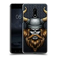 Head Case Designs バイキング スカル・ウォリアーズ Nokia 6 専用ハードバックケース