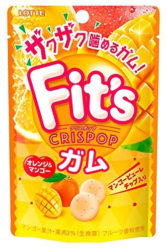 ロッテ Fit'sCrispop(オレンジ&マンゴー) 27g ×10個