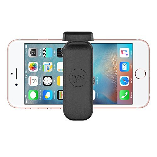 mophie Universal Belt Clip for iPhone 6/6s iPhone 6 Plus/6s Plus, iPhone 5s/5s/5c/5 ベルトクリップ Black ブラック [並行輸入品]