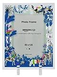 【Amazon.co.jp限定】Kayo Horaguchiコラボレーション グラスフォトフレーム(L版サイズ) ブルー